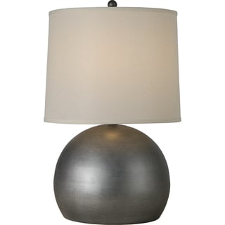 Latitude 1-light Weathered Pewter Table Lamp
