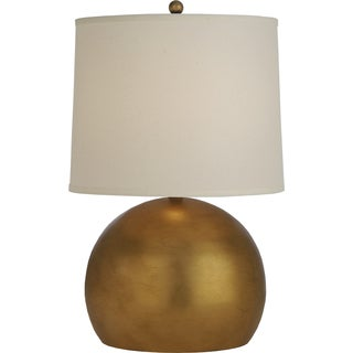 Latitude 1-light Antique Gold Table Lamp