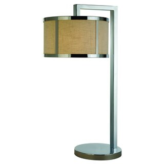 Butler 1-light Polished Chrome Table Lamp