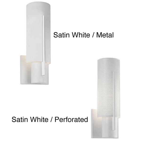 Sonneman Lighting Oberon 1-light White ADA Sconce
