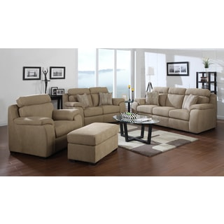 Emerald Horizon Beige 4-piece Livingroom Set