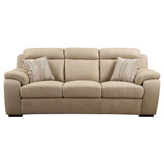 Emerald Horizon Beige 2-pillow Sofa