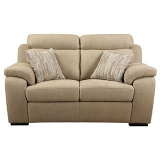 Emerald Horizon Beige 2-pillow Loveseat