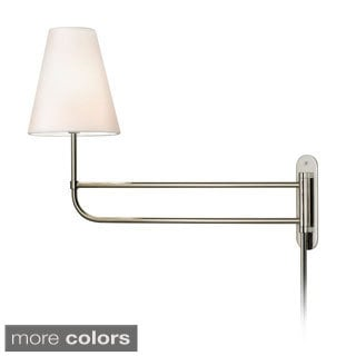 Sonneman Lighting Bistro 1-light 25.5-inch Pin-up Wall Lamp