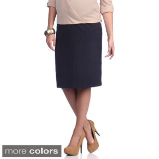 Ashley Nicole Maternity Women's Career Pencil Skirt