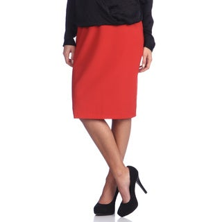 Ashley Nicole Maternity Women's Adjustable Career Pencil Skirt