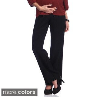 Ashley Nicole Maternity Women's Wide Leg Pants