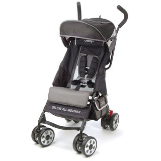 Jeep Deluxe All-Weather Umbrella Stroller in Grey