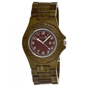 Earth Sebe04 Phloem Wood 41mm Watch