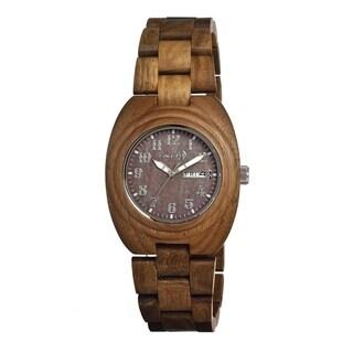 Earth Sede04 Hilum Wood 41mm Watch