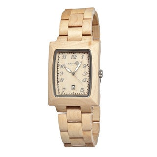 Earth Sego01 Cork Wood 34mm Watch