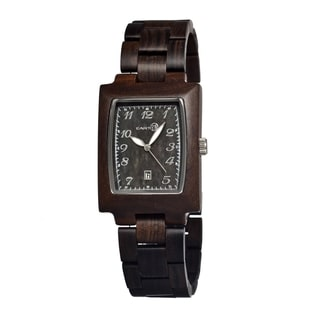 Earth Sego02 Dark Brown Cork Watch