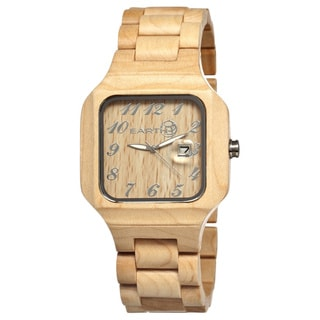 Earth Seso01 Testa Wood 45mm Watch