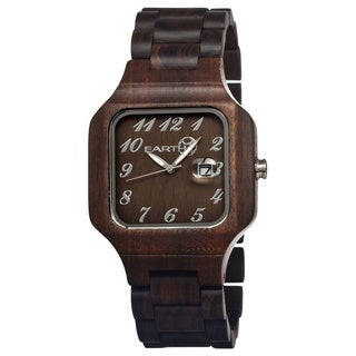 Earth SESO02 Testa Natuarl Dark Wood 45mm Watch