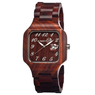 Earth Seso03 Testa Wood 45mm Watch