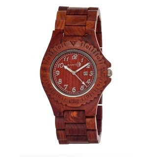 Earth Sebe03 Phloem Brown Wood 41mm Watch