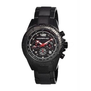 Morphic Men's Black Chronograph Quartz Watch