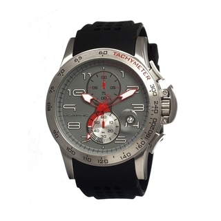 Morphic 'M4 Series' Men's Grey Dial Stainless Steel Watch
