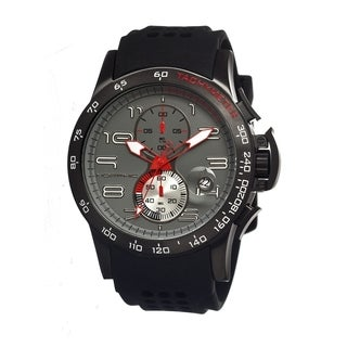 Morphic Men's 'M4 Series' Grey Dial Analog Mineral Watch