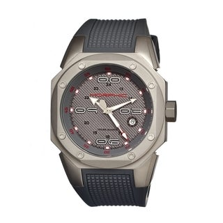 Morphic Men's 'M10 Series' Grey Strap Analog Quartz Watch