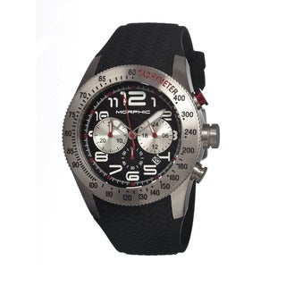 Morphic Men's 'M7 Series' Black Mineral Quartz Watch