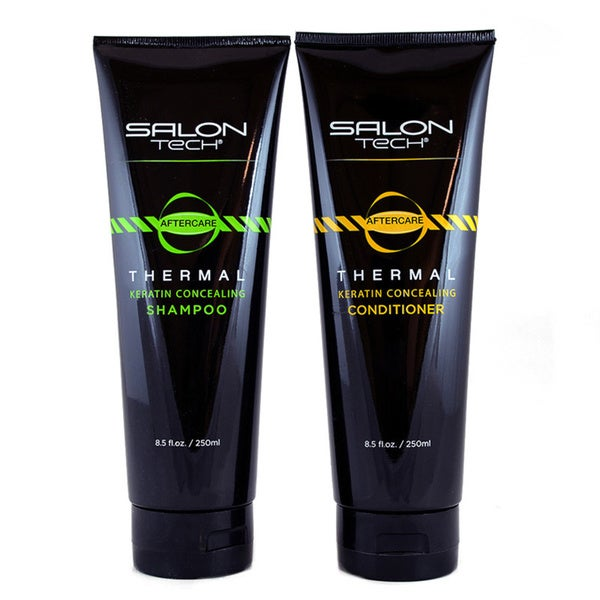 Salon Tech Thermal Keratin Concealing Shampoo and Conditioner Duo
