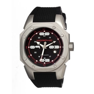 Morphic Men's 'M10 Series' Titanium Black Watch