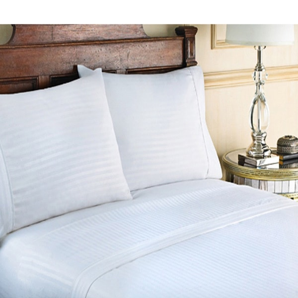 Cotton Sateen Luxury 300 Thread Count 4-piece Sheet Set