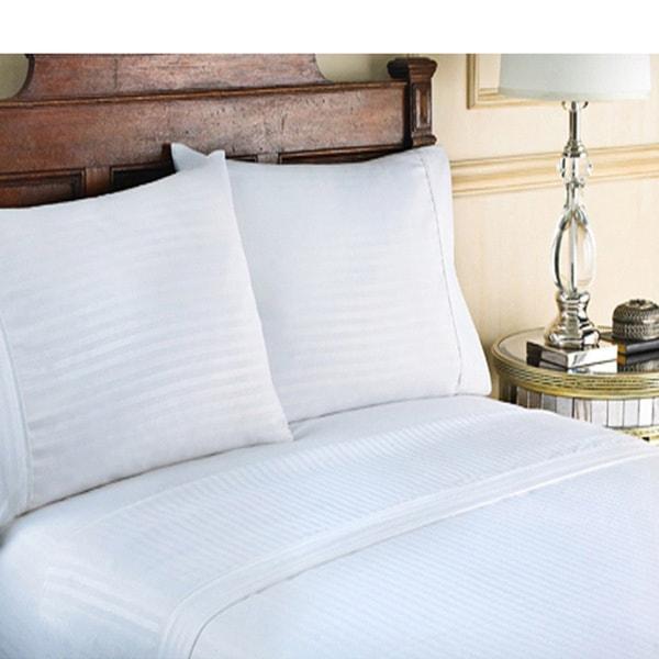 Cotton Sateen Luxury 300 Thread Count 4-piece Sheet Set