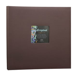 Kleer Vu Cloth Fabric Chocolate Brown Scrapbook