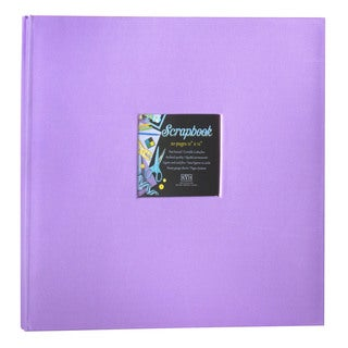 Kleer Vu Cloth Fabric Purple Scrapbook