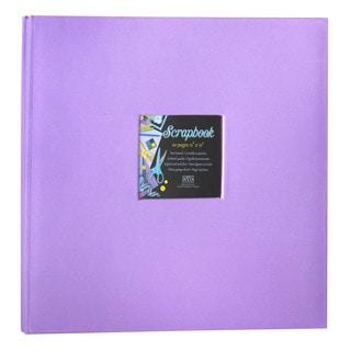 Kleer Vu Cloth Fabric Purple Scrapbook