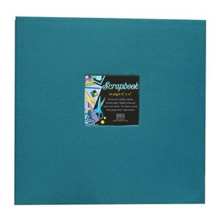 Kleer Vu Cloth Fabric Aqua Blue Scrapbook