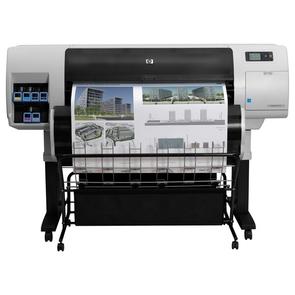 "HP Designjet T7100 Inkjet Large Format Printer - 42.01"" - Color"