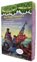 Magic Tree House Boxed Set: American History Quartet (Paperback)