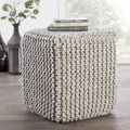 Modern Gray Cube Shape Wool (16