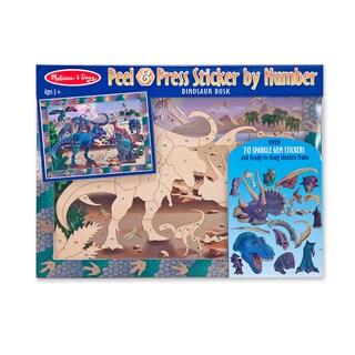 Melissa & Doug Dinosaur Dusk Peel & Press Sticker by Number