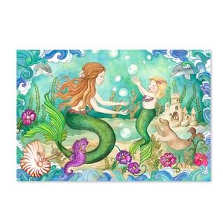 Melissa & Doug Mermaid Playground 48-piece Floor Puzzle