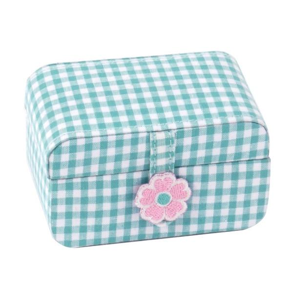 WOLF Kids Turquoise Petite Mini Jewelry Box