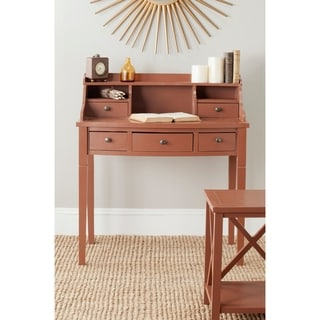 Safavieh Landon Avacado Chocolate Writing Desk