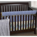 Cotton Tale Zebra Romp 4-piece Crib Bedding Set