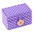 Kids Purple Petite Mini Jewelry Box