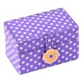 WOLF Kids Purple Petite Mini Jewelry Box