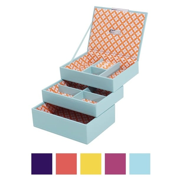 WOLF Stackables Mini 3-piece Jewelry Tray Set