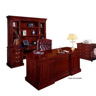 Keswick English Cherry Wood 3-piece Office Set
