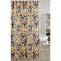Antoinette Yellow Floral Shower Curtain