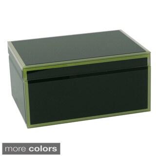 WOLF Royal Large Glass Jewelry Box