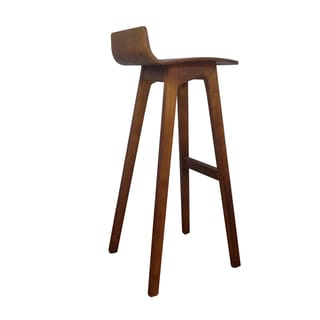 Formstelle Wood and Veneer Bar Stool