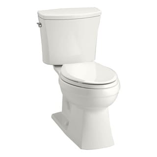 Kohler K-3755 Kelston Comfort Height Two-piece Elongated 1.28 gpf Toilet