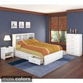 Sonax 4-piece Full/ Double Storage Bed Set